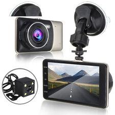 "4.0"" Vehicle Dual Lens Car Camera DVR Video Registrator Dash Cam Full HD 1080P"