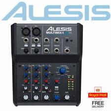Alesis Multimix 4 USB FX Home Recording Studio Mixer Audio Interface Software