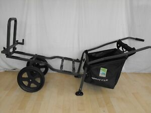PRESTON 2 WHEEL SHUTTLE / TACKLE TROLLEY  match carp pole seatbox fishing set up
