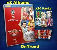 2018 FIFA Russia World Cup Panini Adrenalyn XL 2 Album Binder Folder +20 Packs