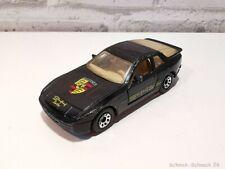 Matchbox Porsche 944 turbo schwarz #34036# #ML#