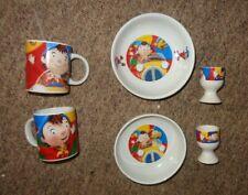 More details for noddy bonbon buddies. ceramic.breafast set  6 x pieces mugs bowls egg cups