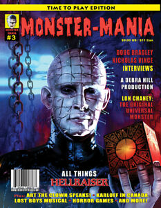 MONSTER-MANIA MAGAZINE ISSUE 3