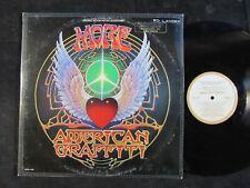 MORE AMERICAN GRAFFITI original soundtrack LP PROMO Byrds/Zombies/Bob Dylan EX