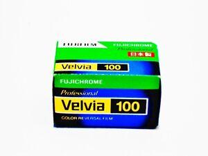 3 x Rolls FUJI VELVIA 100 Color Slide Film--35mm/36 exps--FRESH--expiry: 11/2021