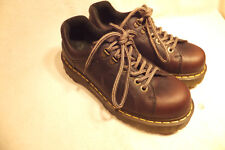 Dr Martens 10938 Brown Leather Lace Up Oxfords UK7-US Men 8-US Lady 9- EU 40 EX.