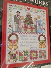 New listing Christmas Time ~ Design Works Counted Cross Stitch Kit