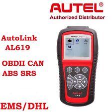 Autel AL619 OBD2 Auto Scanner For SRS ABS Engine Fault Code Reader Update Online
