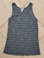 Women's Liz Lange Maternity Tank Top Size S Blue Striped