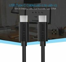 Type-C 3.1 Male to USB-C Fast Charging Charger Sync Data Cable Galaxy S8 S9 S10