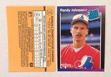 Randy Johnson #42 Seattle Mariners RC 1989 Donruss Rated Rookie Quantity Avl.