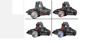 BORUiT Camping Hiking Fishing LED Zoom Headlamp Weatherproof Headlight Head Lamp