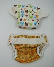 Thirsties Baby Cloth Reusable Nappies Diapers Size Small Lot 2