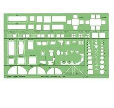 LINEX architetti UNIVERSALE 1:50 mobili per stanze modello stencil - 1259s