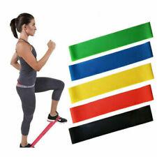 5PCS/SET Resistance Fitness Yoga Band Strap Loop Elastic Gym Excercise Workout