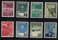 Noorwegen Norge postfris Mi 276 - 283 , F 333 - 340 (N102)