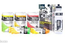 Science in Sport SIS Energía Resistencia Pack geles SOBRES bars- with 800ml