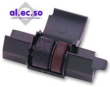 Farbrolle f Casio FR620ter rot/schwarz druckend robuste farbintensive Qualität