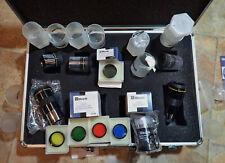 "Meade Series 4000 Set, (5) 1.25"" Super Plossl Eyepieces, 5 Filters, Barlow Len"