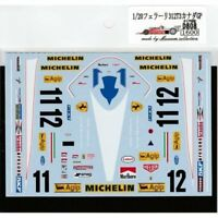Museum Collection 1/20 Ferrari 312T3 Canada GP Decal for TAMIYA D808