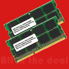 16GB 2X 8GB SODIMM DDR3 Laptop PC3-12800 12800 1600MHz 1600 204-pin Ram Memory