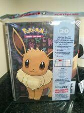 Pokemon Eevee 18 pocket Page Portfolio Album Binder Holder Card Protection