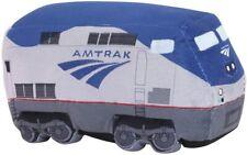 Amtrak Train Plush P42 Locomotive Pillow 11 inches long New