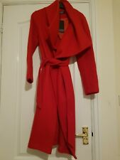 Womens Red Trench coat size 8 bnwt - See Other Items New
