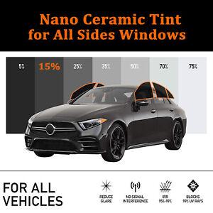 Car Solar Nano Ceramic Window Tint  Sunshade Heat Control Home Pravicy Vinyl