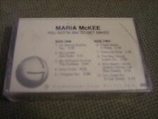 SEALED RARE PROMO Maria McKee CASSETTE TAPE You Gotta Sin To Get Saved JAYHAWKS