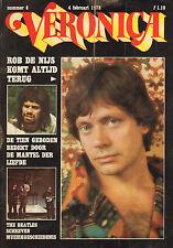 VERONICA 1978 nr. 06 - BEATLES / ROB DE NIJS / JOAN HAANAPPEL / TOP 40