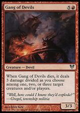 Gang of Devils X4 EX/NM Avacyn Restored MTG Magic Cards Red Uncommon