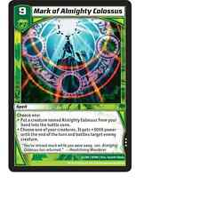 Kaijudo X3 MARK OF ALMIGHTY COLOSSUS Rare #32/80 10INV (Playset) Invasion Earth