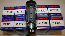 Matched Octet (8 tubes) Tung Sol KT120 tubes,  BRAND NEW