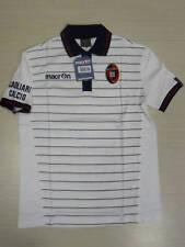 0148 MACRON TG. XL CAGLIARI CALCIO POLO MAGLIETTA COTONE T-SHIRT TEMPO LIBERO