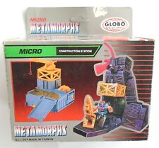Vintage Transformers Construction Station 1983s Clobo Micro Metamorphs