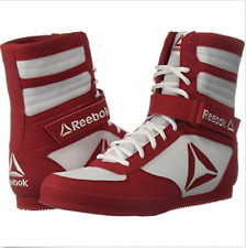 Reebok Men's Boot Boxing Shoes Sz 10.5 Men US Color White/Excellent/Red. CN4739