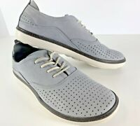 Merrell Women's Around Town LACE AIR Fashion Leather Sneaker Sleet Size 7 ~NICE