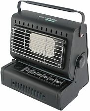 New Durable Steel Black PORTABLE GAS HEATER CAMPING FISHING OUTDOOR INDOOR Use