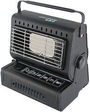 Nouveau durable acier noir portable gaz chauffage camping pêche extérieur utilisation en intérieur