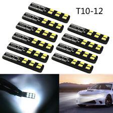 10Pcs 600LM 6000K 3030 12 SMD T10 led bulb 194 168 W5W Car Side Wedge Light Bulb