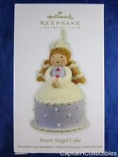 2012 Hallmark Keepsake Club Ornament Sweet Angel Cake Fabric QXC5042 NIB