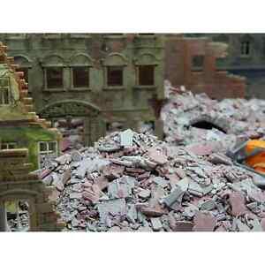 Juweela 28147 Ho 1/87 Bundle Of Rubble Debris Of Construction Grey Red 0.9oz Ho