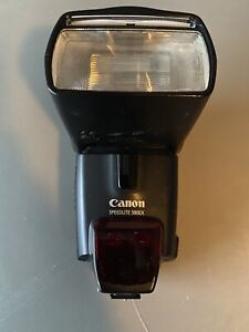 Canon 580 EX Speedlite Flash [GN138] {Bounce, Swivel, Zoom} - (AI) Untested