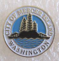 City of Mercer Island, Washington Travel Souvenir Collector Pin