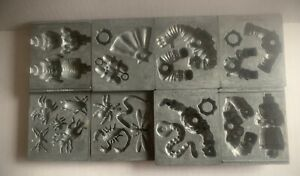 8 TOYMAX CREEPY CRAWLERS THING MAKER MOLDS SEA SCORPION SPIDER BUGS WORM BEE +