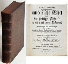 ANTIDEISTISCHE BIBEL: DIE HEILIGE SCHRIFT DES ALTEN UND NEUEN TESTAMENTS. T. 7-8