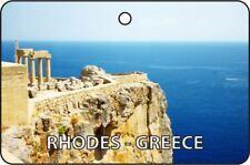 RHODES - GREECE CAR AIR FRESHENER