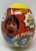 New Sealed Exclusive Ryan's World Giant Mystery Egg Yellow Series 1- Rare