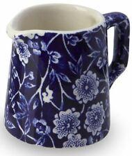 Burleigh cream jug Blue Calico mini milk tot 5cm